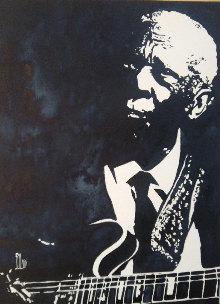 B.B. King por aquarelle-autrement